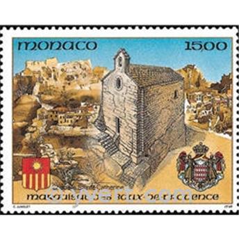 n° 1841 -  Timbre Monaco Poste