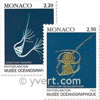 n° 1850/1851 -  Timbre Monaco Poste
