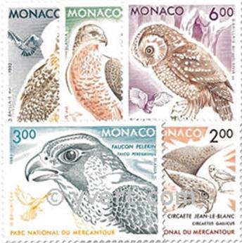 n° 1855/1859 -  Timbre Monaco Poste