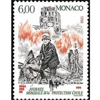 n.o 1870 -  Sello Mónaco Correos