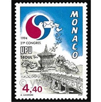 n° 1944 -  Timbre Monaco Poste