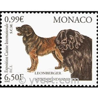 n° 2296 -  Selo Mónaco Correios