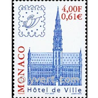n° 2302 -  Selo Mónaco Correios