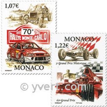 n° 2334/2335 (BF 86) -  Selo Mónaco Correios