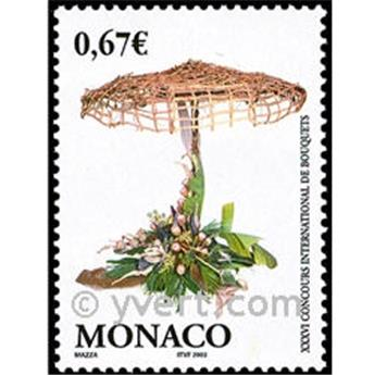 n° 2378 -  Selo Mónaco Correios