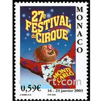 n.o 2382 -  Sello Mónaco Correos