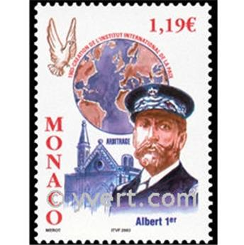 n° 2387 -  Selo Mónaco Correios