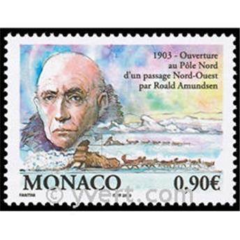 n.o 2398 -  Sello Mónaco Correos