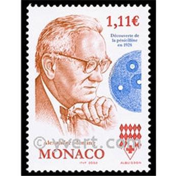 n° 2407 -  Selo Mónaco Correios