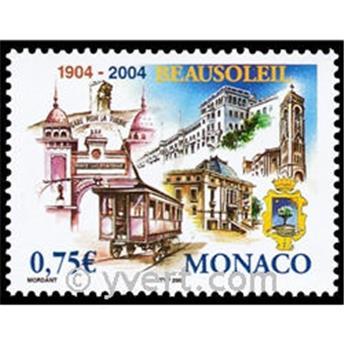 n° 2423 -  Selo Mónaco Correios