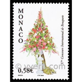 n° 2433 -  Selo Mónaco Correios