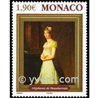 n° 2444 -  Selo Mónaco Correios