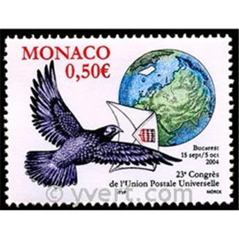 n° 2449 -  Selo Mónaco Correios
