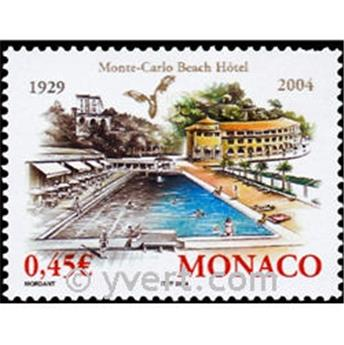 n° 2453 -  Selo Mónaco Correios