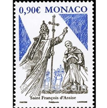 n° 2687 -  Selo Mónaco Correios