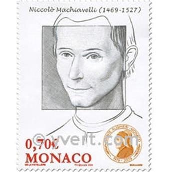 n° 2691/2693 -  Selo Mónaco Correios