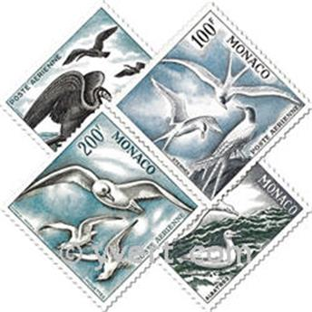 nr. 55/58 -  Stamp Monaco Air Mail