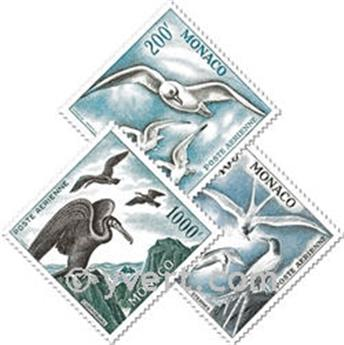nr. 66/68 -  Stamp Monaco Air Mail
