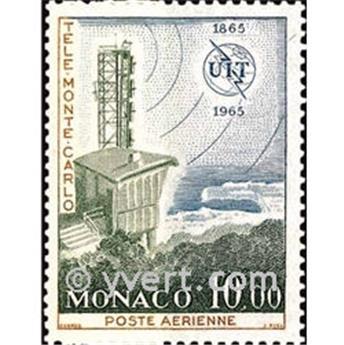 n.o 84 -  Sello Mónaco Correo aéreo