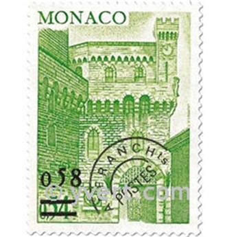n° 50/53 -  Selo Mónaco Pré-obliterados