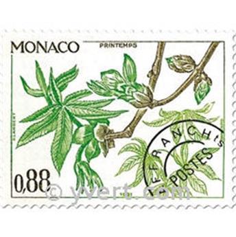 n.o 70 / 73 -  Sello Mónaco Precancelados
