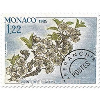 n° 86/89 -  Selo Mónaco Pré-obliterados