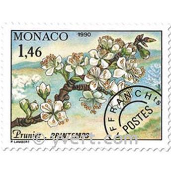 n° 106/109 -  Selo Mónaco Pré-obliterados