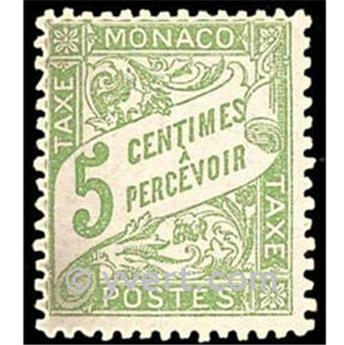 n° 2 -  Selo Mónaco Taxa