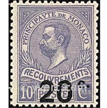 n° 11 -  Selo Mónaco Taxa