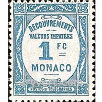 nr. 27 -  Stamp Monaco Revenue stamp