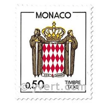 nr. 83/86 -  Stamp Monaco Revenue stamp