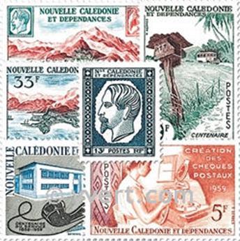 n° 295/301 -  Timbre Nelle-Calédonie Poste