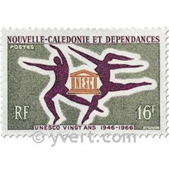 n.o 329 -  Sello Nueva Caledonia Correos
