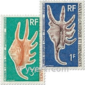 nr. 379/380 -  Stamp New Caledonia Mail