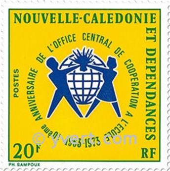 n.o 389 -  Sello Nueva Caledonia Correos