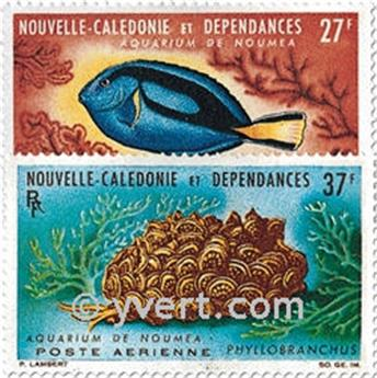 nr. 77/78 -  Stamp New Caledonia Air Mail