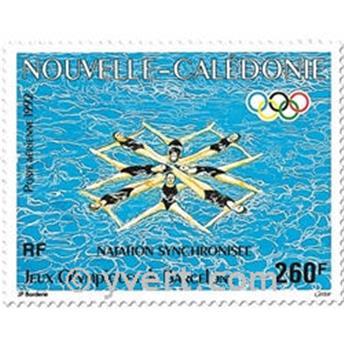 n° 286 -  Selo Nova Caledónia Correio aéreo