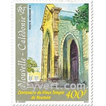 n° 299 -  Selo Nova Caledónia Correio aéreo