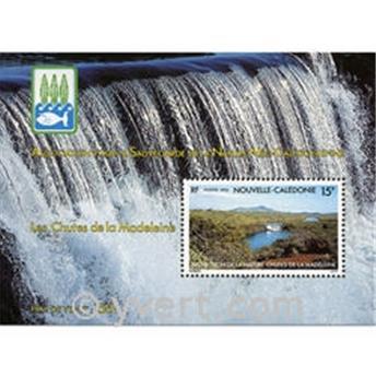n.o 13 -  Sello Nueva Caledonia Bloque y hojitas