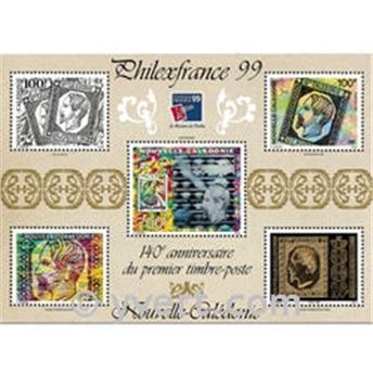n° 22 -  Timbre Nelle-Calédonie Bloc et feuillets