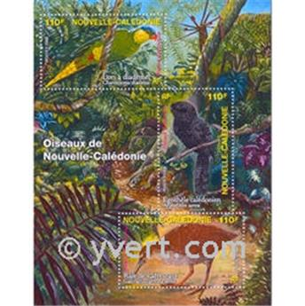 n.o 36 -  Sello Nueva Caledonia Bloque y hojitas