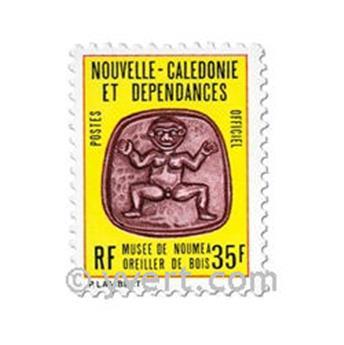 n° 34/36 -  Timbre Nelle-Calédonie De service