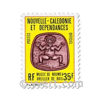 nr. 34/36 -  Stamp New Caledonia Official Mail