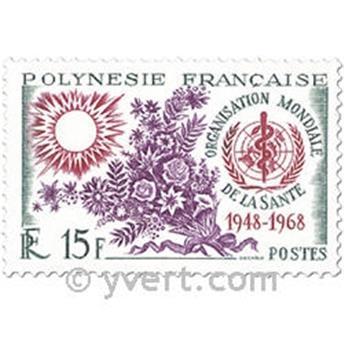 n° 60/61 -  Timbre Polynésie Poste
