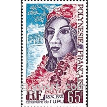 n° 103 -  Timbre Polynésie Poste
