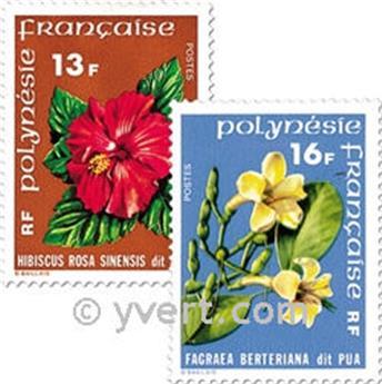 n° 119/120 -  Timbre Polynésie Poste