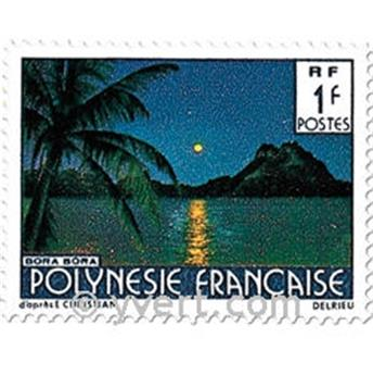 n° 132/137 -  Timbre Polynésie Poste