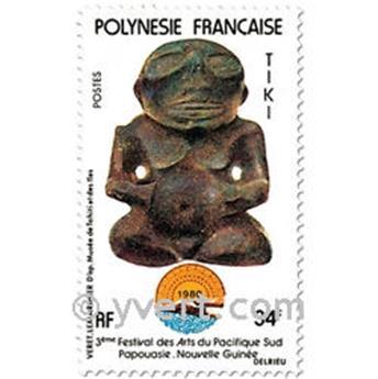 n° 153/155 -  Timbre Polynésie Poste