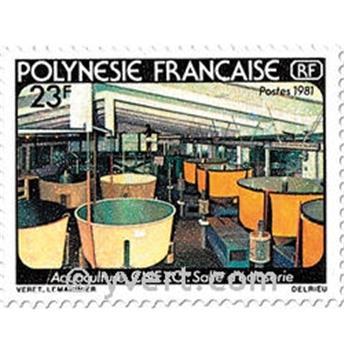 n° 163/164 -  Timbre Polynésie Poste