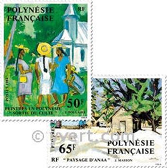 n.o 223/226 -  Sello Polinesia Correos